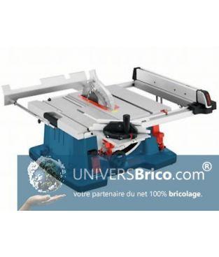 Scie A Table Gts 10 Xc Bosch Univers Brico