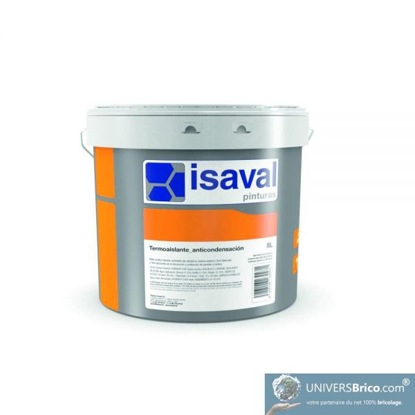 Isolation thermique anti condensation univers brico for Peinture anti condensation