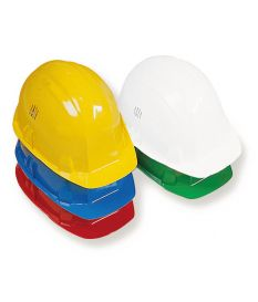 Casque de chantier Rouge - Mob/Mondelin