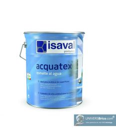 Peinture Brillante Acquatex 4L Blanc