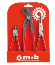 Lot de 3 pinces - Mob/Modelin