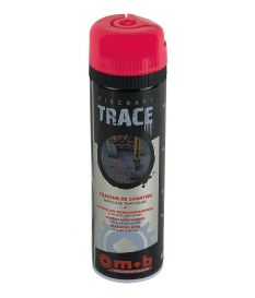 Traceur de chantier 500 ML Rouge - Mob/Mondelin