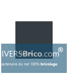 Peinture Velours -1Litre Gris Anthracite (RAL 7016) - Isaval