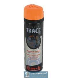 Traceur de chantier 500 ML Orange carton de 12 Unités - Mob/Mondelin