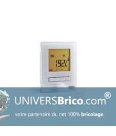 Delta Dore Minor 12 Thermostat digital pour plancher ou plafond