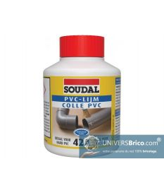 Colle pour tube pvc 42A Pot de 250 ml-Soudal