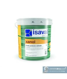 Lasure xanol Satiné finition 4 Litre Incolore-Isaval