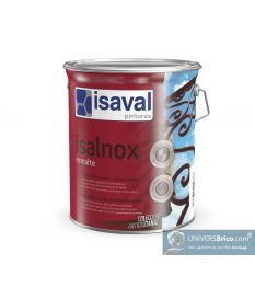 Isalnox laque antirouille brillant 0.75 L RAL 2010 Orange de signalisation - Isaval