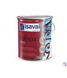 Isalnox laque antirouille brillant 0.75 L RAL 2009 Orange de sécurité - Isaval