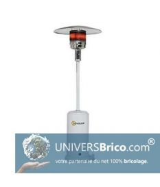 Parasol Chauffant Blanc 14KW - Sovelor