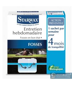 Entretien hebdomadaire fosses septiques - Starwax