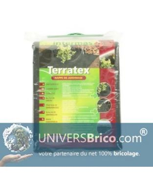 Nappe de jardinage 1mx10m-TERRATEX