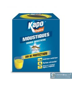 Bougie insecticide anti-moustiques - Kapo