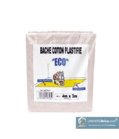 Bache Eco Coton Plastifiée-Dulary