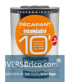DECAPANT BATIMENT 10'GELIFIE