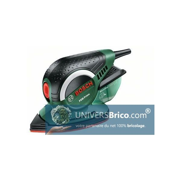Ponceuse vibrante psm primo bosch univers brico - Ponceuse vibrante bosch ...